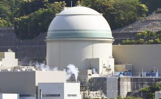 関西電力の高浜原発4号機。原発はエネルギー政策の最大の焦点だ(福井県高浜町)