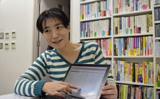 経理の経験を生かして税理士法人グループの社員として活躍する沢田真佐美さん(名古屋市)