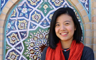 徐さんは2017年、NYUアブダビ校の授業の遠足でウズベキスタンを訪れた