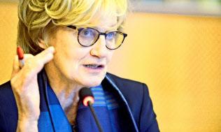 欧州議会のマディ・デルボー議員