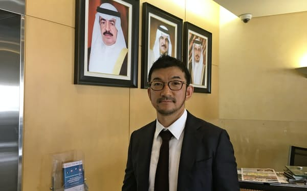 中東バーレーンを訪れた山崎社長