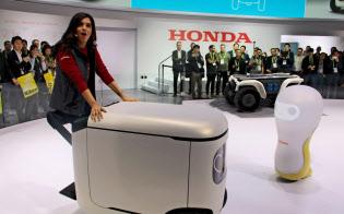ホンダは次世代ロボットをCESの主役にした(米ラスベガス、11日)