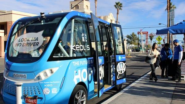 欧米のスタートアップ、無人運転で「サービス革命」