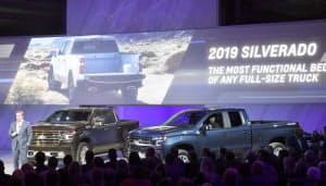 シボレーが発表した新型のピックアップトラック