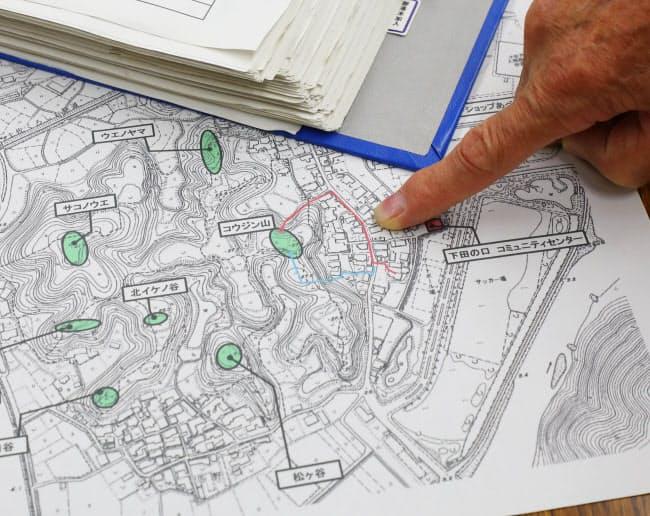 「避難カルテ」には約3800の世帯ごとに避難場所や経路などが記されている