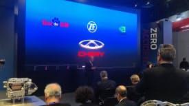 ZFはデトロイトで奇瑞汽車との提携を発表した