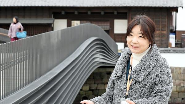 出島の魅力 発掘し世界へ 長崎市・山口美由紀学芸員