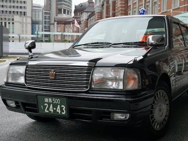 柔軟な料金設定に向けた実験が続く(日本交通のタクシー)