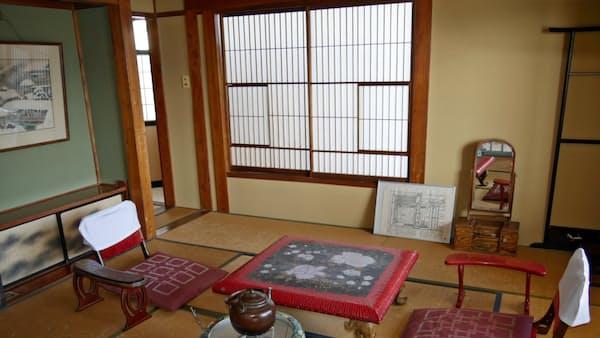川端康成ゆかりの宿 新潟・湯沢町の「高半」