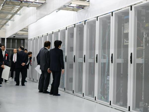 データドックは長岡市に建設したデータセンターを公開した