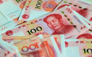 人民元の紙幣