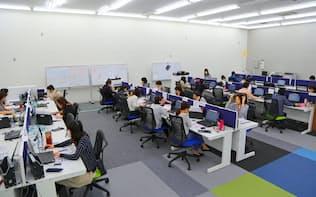 事業拡大を狙うベル24にとって、従業員の退職を防ぐことが重要になる(横浜市のコールセンター)