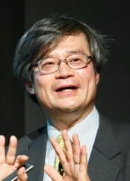 基調講演する名古屋大の天野浩教授(27日、東京都港区)