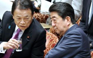 衆院予算委員会に臨む安倍首相(2018年1月29日午前)