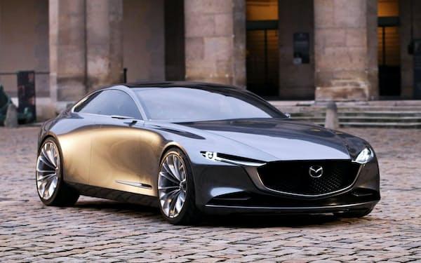 マツダの次世代デザインビジョンモデル「ビジョン・クーペ」
