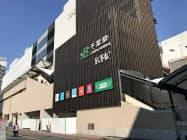 JR千葉駅ビルの開業で滞在人口が増加