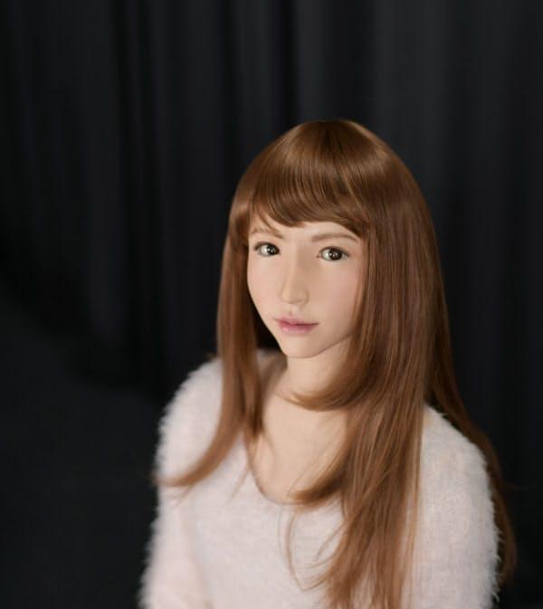 美人ロボット「エリカ」(京都府精華町)=開発:ERATO石黒共生ヒューマンロボットインタラクションプロジェクト