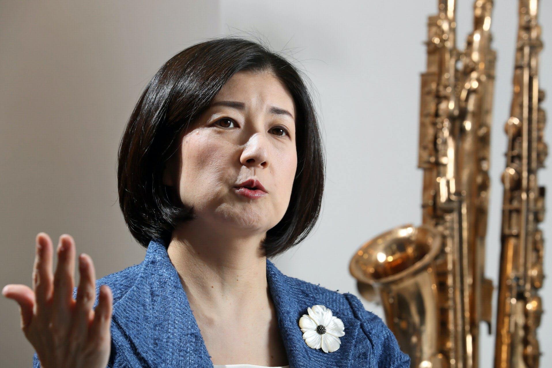 大塚久美子社長(写真は17年5月)
