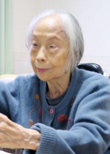 石牟礼道子さん(2016年)