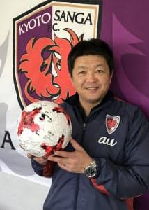 小島さんが目指すのは「京都府民に尊敬されるチーム」