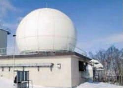 与那国島に配備予定の沿岸監視レーダー=防衛省提供