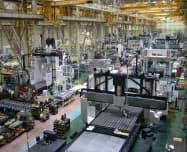 工作機械業界は引き続き活況が続く(工作機械大手オークマの可児工場)