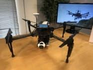 運用支援システムは飛行ルートの設定などができる