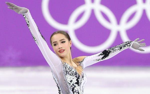 女子SPで世界歴代最高点を取ったザギトワ
