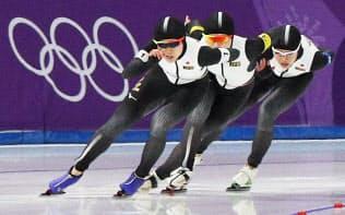 スピードスケートが素晴らしいのは自分たちの強化方針を4年間やり通したことだ