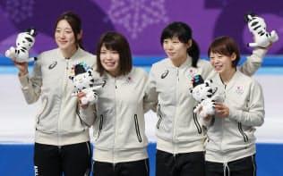 金メダル獲得へナショナルチームを編成し、年間を通して活動できたのが大きかった=山本博文撮影