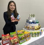 アサヒグループ食品は、介護食シリーズから栄養補給飲料「栄養プラス」などを売り出す。