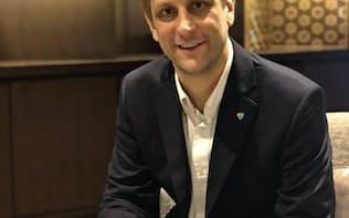 NEM財団のジェフ・マクドナルド副代表