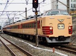 JR東日本が引退させる方針を固めた豊田車両センター所属の「189系」=共同