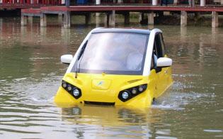 FOMMはタイで水に浮かぶEVの開発を進める