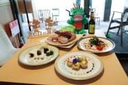 ミャンマー産食材を使った料理の一例