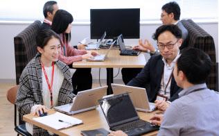 ウイングアークは外資の出資を機に海外展開を進める(東京都渋谷区)