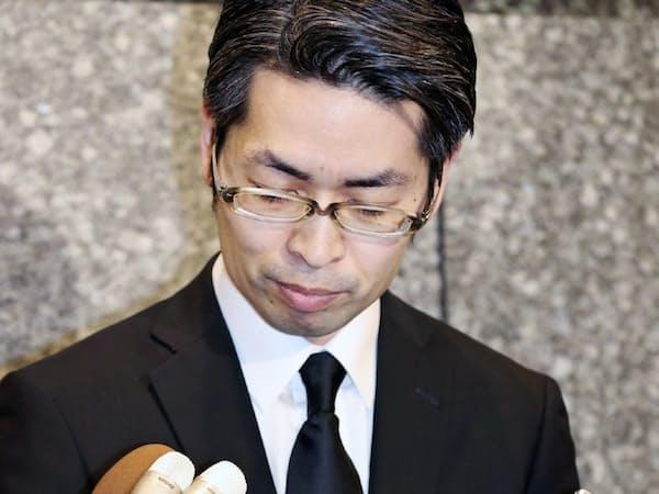 コインチェックの大塚雄介取締役の発言に金融庁の担当官は聞き耳を立てていた(2月13日)