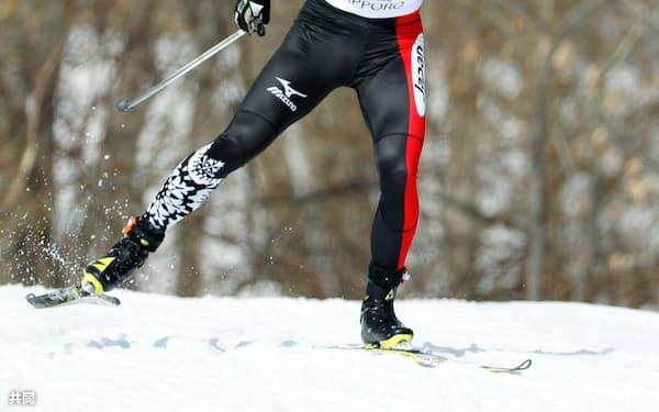 バンクーバー大会以来の金メダル獲得を目指すノルディックスキー距離の新田佳浩=2017年3月、西岡競技場