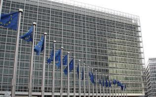 欧州の厳しいデータ規制に企業は困惑(欧州委員会本部ビル)