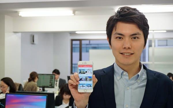 クラウド型建設プロジェクト管理ツールを手がけるオクト(東京・品川)の稲田武夫社長