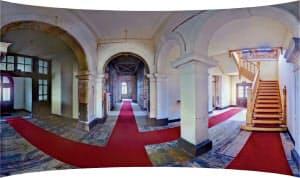 世界遺産の官営八幡製鉄所・旧本事務所の内部を歩いている感覚で体験できる