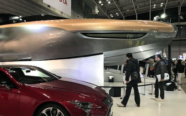 トヨタはレクサスブランドの大型クルーザーを米国と日本に投入する
