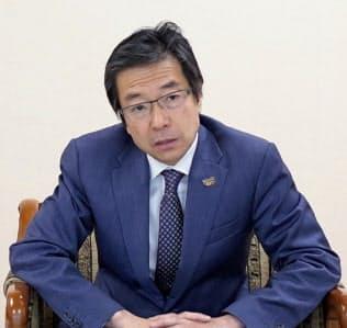 CNSの樋口泰行社長