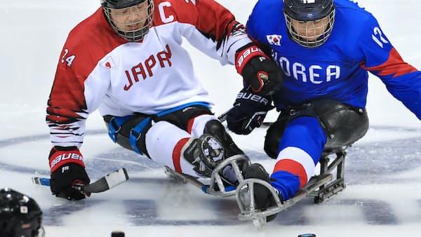 パラアイスホッケー、日本の課題は少ない競技人口