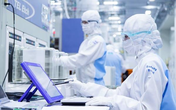 東京エレクトロンは宮城工場で生産能力を倍増させる(宮城県大和町)