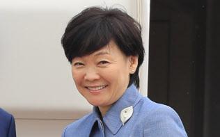 公明党の山口代表が行動を慎むよう注文をつけた安倍昭恵氏(17年5月)