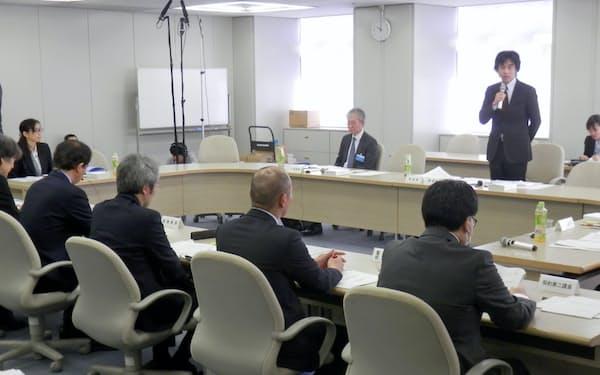 都入札監視委は3月中に策定する報告書に提言を盛り込む(12日に都庁で開いた会合)
