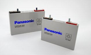 角形のリチウムイオン電池