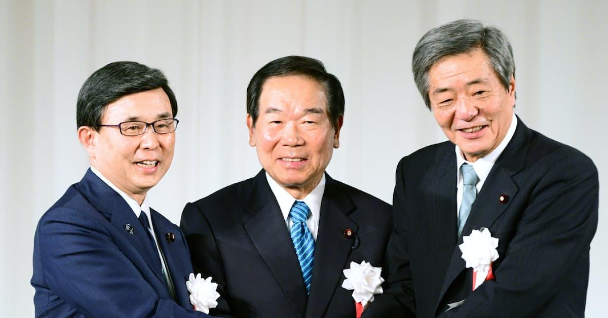 竹下派」発足へ 額賀氏が派閥会長を退任表明: 日本経済新聞