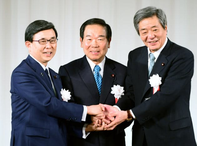 竹下派」発足へ 額賀氏が派閥会長を退任表明 :日本経済新聞